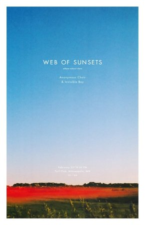 Web of Sunsets' debut LP, Room of Monsters, outtoday!