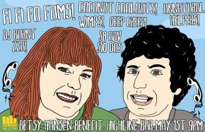 Betsy Hansen benefit at the Highline tonight