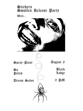 Swollen release show tonight at BlackLodge